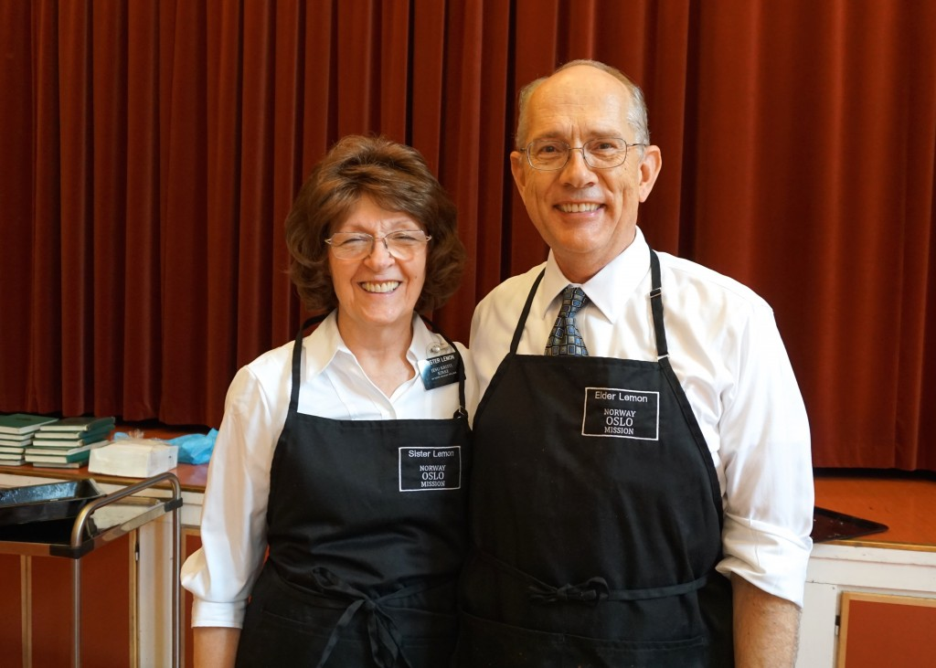 Brother and Sister Lemmon provided our wonderful lunch!